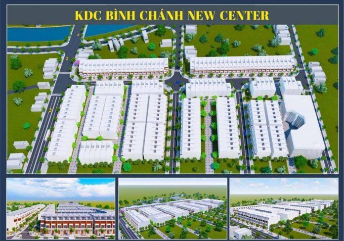 Phối cảnh dự án đất nền Bình Chánh New Center