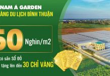 Ký gửi đất nền Nam Á Garden