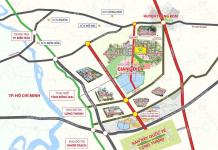 Bản đồ quy hoạch khu công nghiệp Giang Điền
