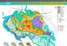 Bản đồ quy hoạch đô thị mới Nhơn Trạch đến năm 2035 tầm nhìn đến năm 2050